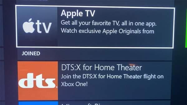 Apple TV应用或将登录Xbox,可能在11月10日发布