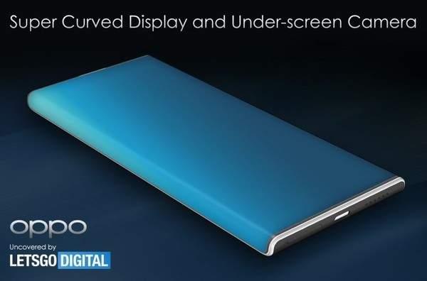 OPPOFindX3Pro渲染图曝光:大曲率瀑布屏+屏下摄像头设计
