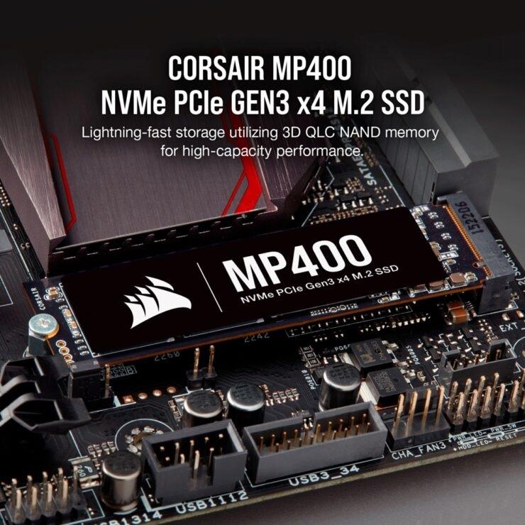 海盗船MP400正式发布,传输速度达3400MB/秒