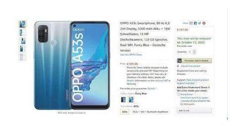 oppoa53s手机价格_oppoa53s大概多少钱