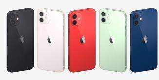 iPhone12有五种颜色,搭配小刘海颜值更高