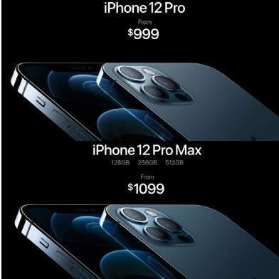 iPhone12Pro系列配备LiDAR,拍摄性能更强悍
