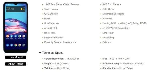 摩托罗拉E7参数曝光:后置13MP主摄,售价约960元