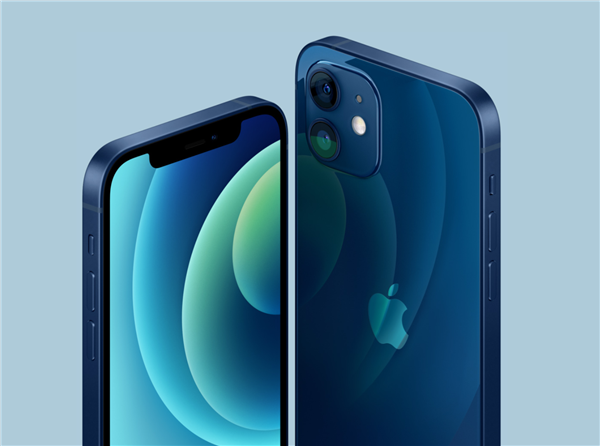 iphone12海军蓝/太平洋蓝真机:新配色太吸晴