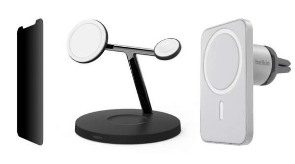 贝尔金为iPhone12推出三合一无线充电器,150美元起售