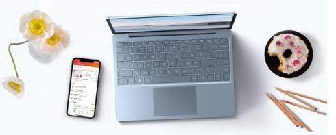 微软SurfaceLaptopGo发布:轻薄小巧价格549美元起