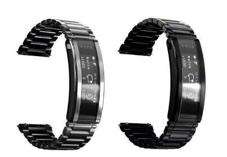 索尼wena 3 metal发布,可作为传统手表的表带使用