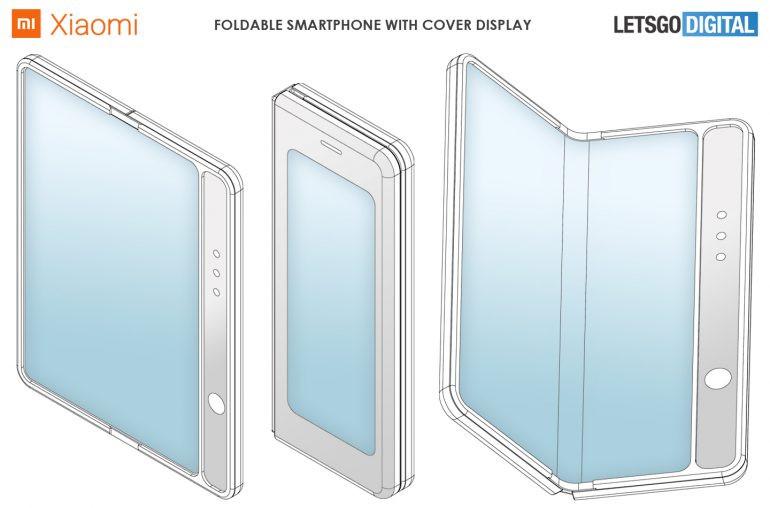 小米最新手机新专利曝光,小米全新折叠屏手机来袭