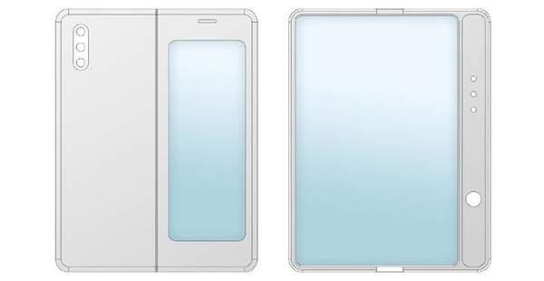 小米内折式折叠屏手机曝光:采用后置三摄设计