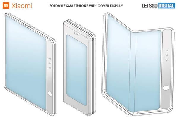 小米最新手机新专利曝光,全新折叠屏手机专利来袭