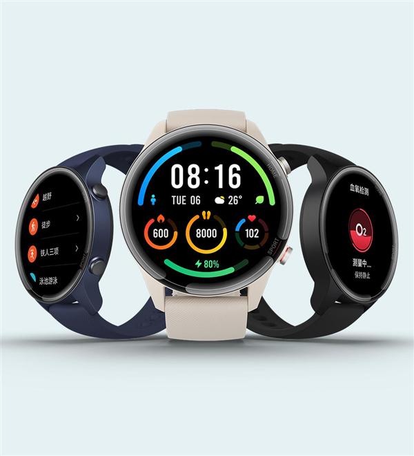 小米手表Color运动版已开启预售,50元定金可抵100元!