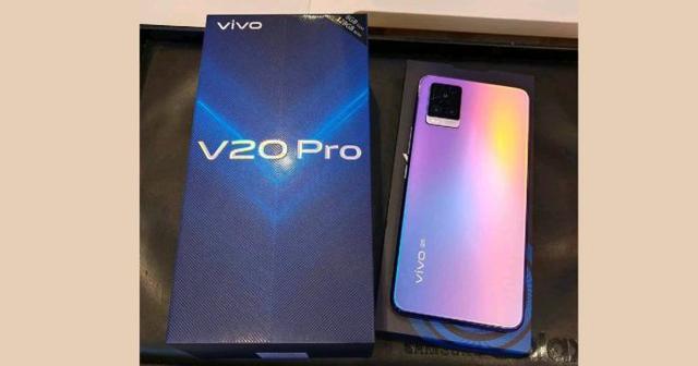 vivoV20Pro即将印度发布:骁龙765G+33W快充
