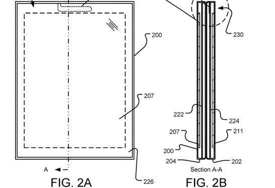 微软新双屏专利曝光:支持360度屏幕翻转