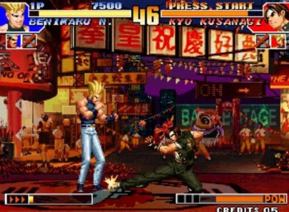 拳皇97风云再起破解版图2