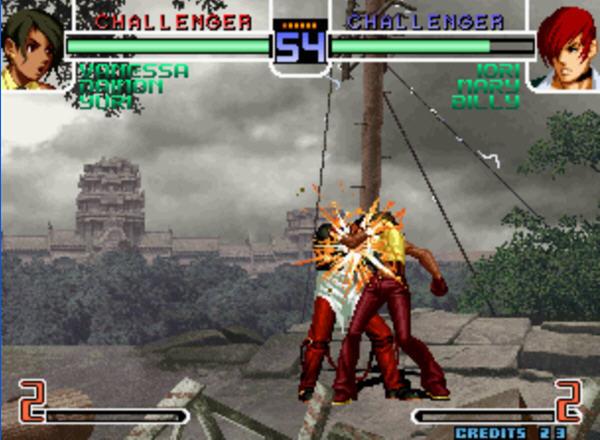拳皇2002风云再起完全解密版图2