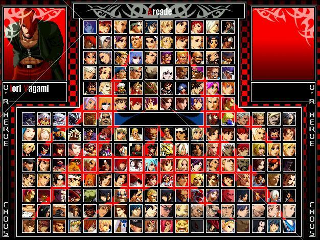 拳皇2002风云再起完全解密版图1
