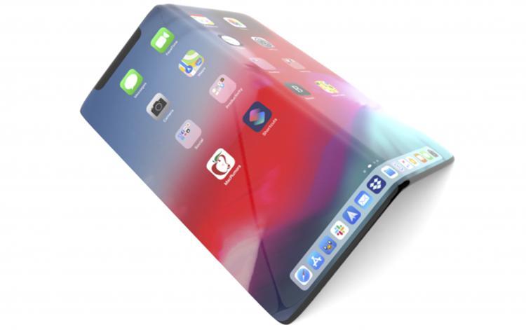 iPhone折叠机专利曝光,新保护层可防破裂!