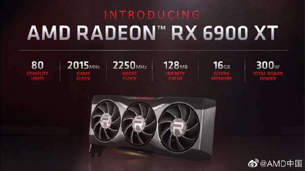 AMD RX6000系列显卡发布!12月8日上市!