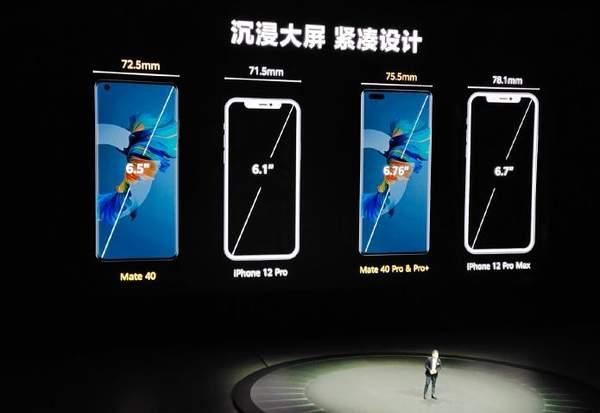 华为Mate40发布会:Mate40系列直接喊话iphone12!