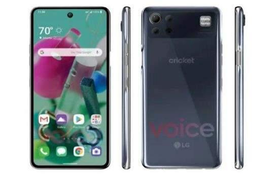 LGK92 5G手機曝光:搭載驍龍690+挖孔屏