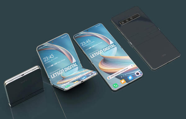 OPPO最新折叠屏手机渲染图曝光,颜值超高