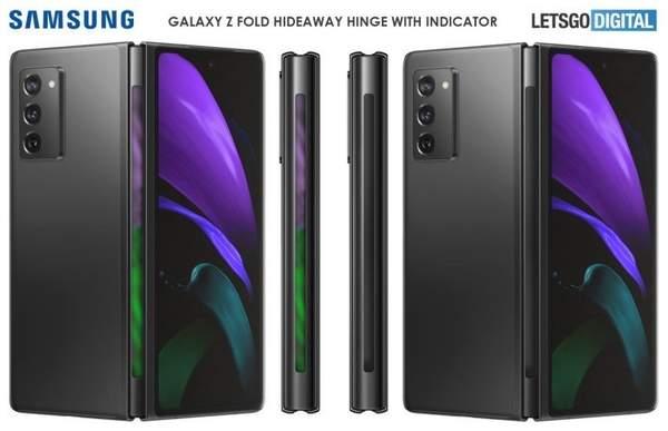 三星Galaxy Z Fold3铰链或将加入指示灯功能