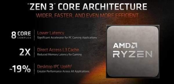 AMD发布锐龙5000系列处理器,将于11月5日正式开售