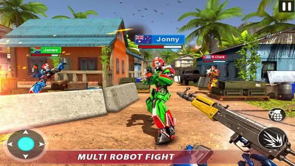 射击机器人行动无限金币版图1