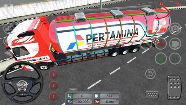 印尼巴士油罐车mod图1