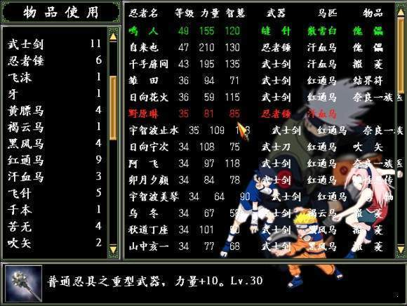 三国群英传2火影忍者mod图1