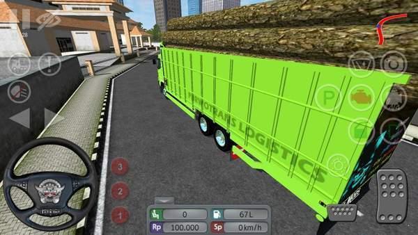 印尼巴士运木货车mod图3