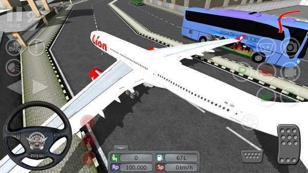 印尼巴士飞机mod图1