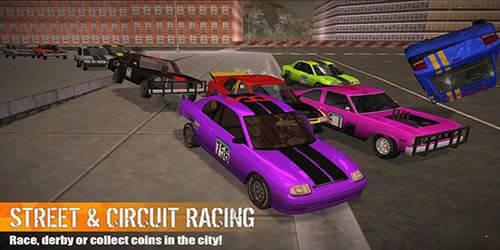 冲撞赛车3破解版图3