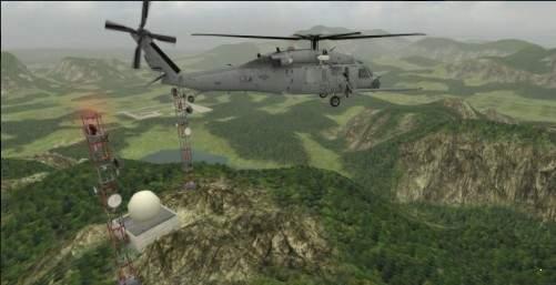 直升机飞行模拟器破解版图1