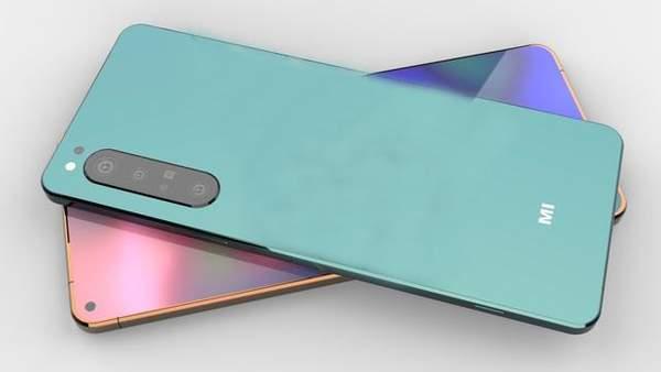 小米20Pro概念图曝光,柳叶刀机身+直面屏颜值超高