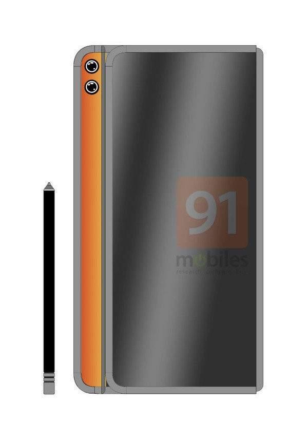 华为MateX2屏幕曝光:内折设计或直接采用三星柔性屏
