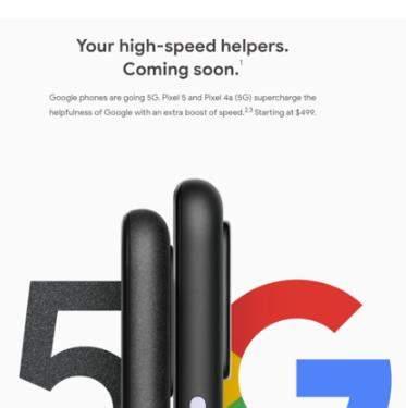 谷歌Pixel 5参数配置曝光:5.78英寸+骁龙765G