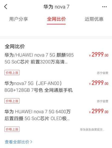 华为涨价了吗?华为手机涨价是真的吗?