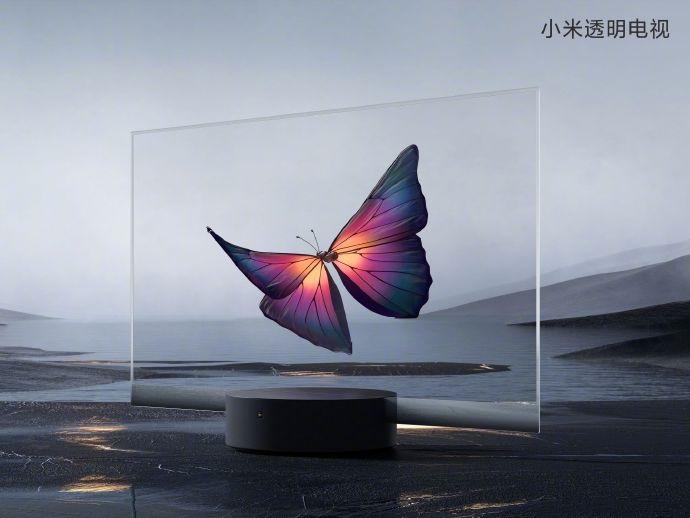 小米透明OLED电视发布,价格49999元秒售罄