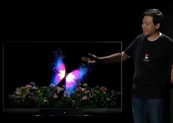 小米黑科技!全球首款透明电视发布