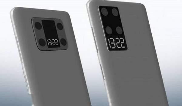 华为手机设计专利曝光:后摄自带迷你显示屏