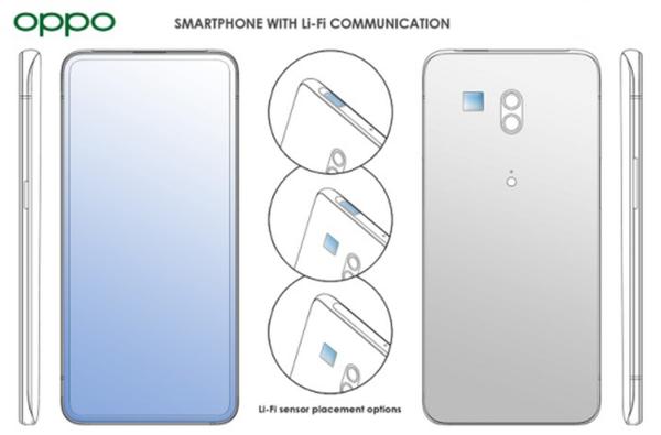 OPPO新专利LiFi技术:让手机网速变快