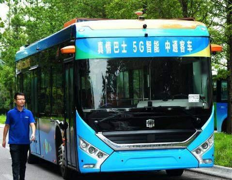 5G智能自动驾驶公交车现身山东,司机也要下岗?