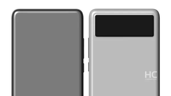 华为新手机专利曝光, 下一代旗舰手机就长这样?