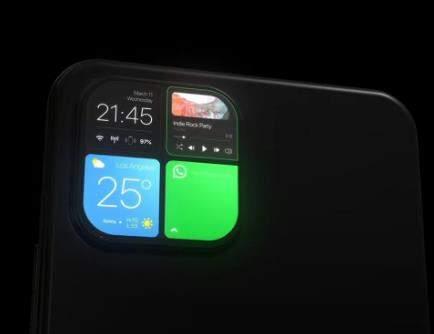 苹果iPhone新设计曝光:后摄模组或将加上副屏
