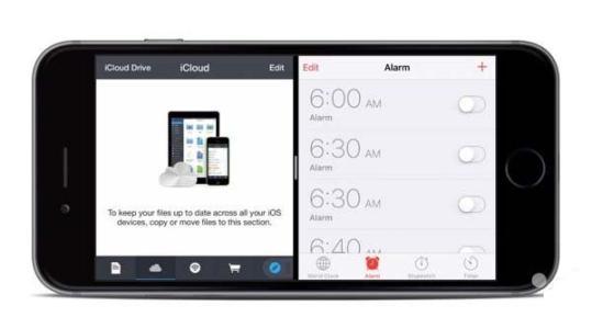 苹果手机分屏功能在哪里设置,苹果手机怎么分屏两个应用?