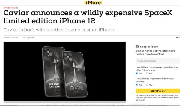 iPhone12定制版概念图曝光,可以预购了?