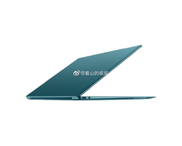 华为MateBook X渲染图:粉色款少女心十足