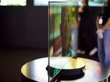 小米透明电视真机实拍图,黑科技爆棚