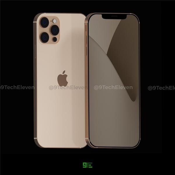 iPhone12Pro渲染图曝光,外观致敬经典?